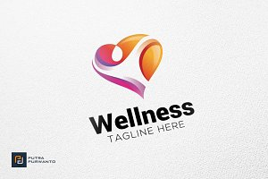 Wellness - Logo Template
