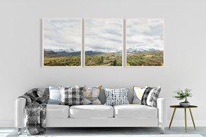 3 bundle mountain range landscape