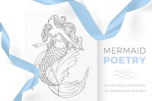 50% OFF Mermaid Poetry