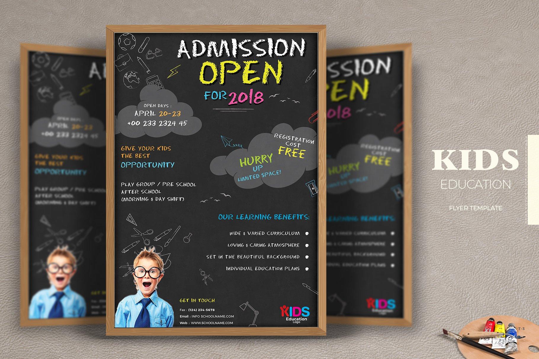 School Flyer ~ Flyer Templates ~ Creative Market