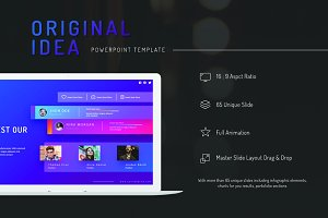 Original Idea Presentation Template