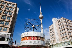 The Worldtime Clock, Berlin, Germany