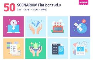 Scenarium Flat icons vol.8