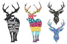 Magic deers set
