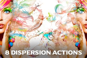 8 Dispersion Actions for Photoshop