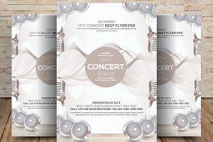 City Concert Flyer / Poster
