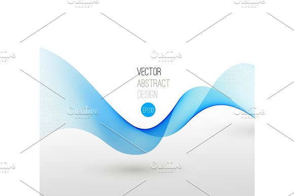 Vector template leaflet design with