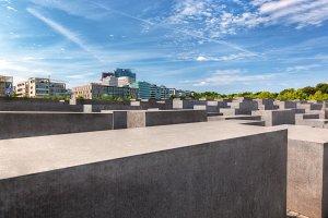 The Holocaust Memorial, Berlin