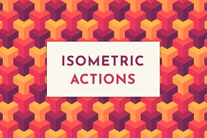 Isometric Actions, Patterns & Grid