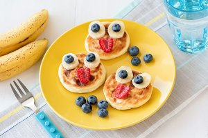 Funny breakfast for kids!