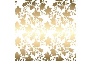 Abstract vintage seamless damask