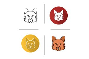 German Spitz icon