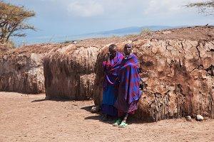 Maasai village, Tanzania, Africa