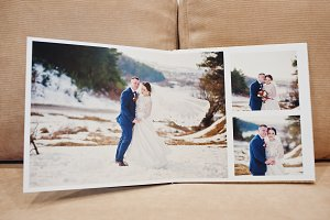 Wedding photo book