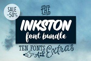 Inkston Font Bundle SALE