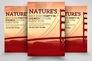 Nature Flyer Template 06