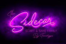 Sidecar Script & Sans Font