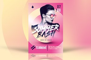 Summer Bash Flyer Templates