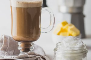 BULLETPROOF COFFEE. Ketogenic keto