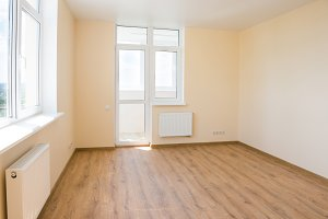 Living room interior of empty room