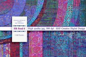 Silk Road 6: Artsy Creative Textures
