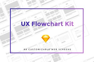 UX Flowchart Kit