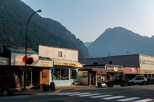Small Town Hope British Columbia