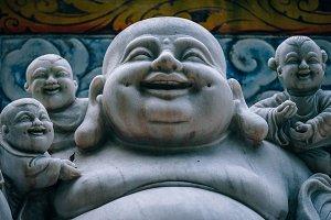 Fat Laughing Buddha Statue