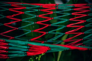 Green and Red Hammock