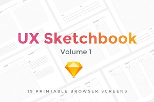 UX Sketchbook Volume 1