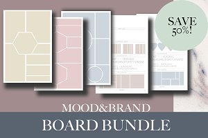Brand & Mood Board Bundle