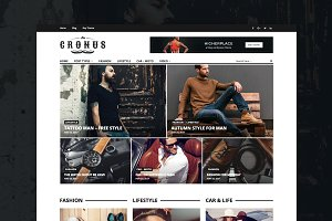 Cronus - Men's Fashion WP Magazine