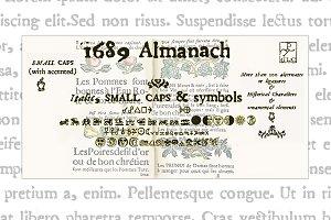 1689 Almanach Family OTF