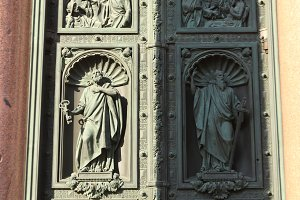 Figures and Ornaments on Doors