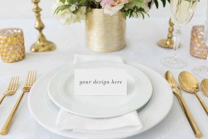 Place Card Mockup | Wedding Mockup