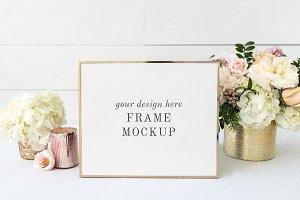 Frame Mockup | Wedding Sign Mockup