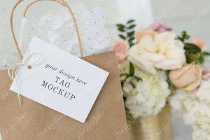 Tag Mockup | Wedding Mockup