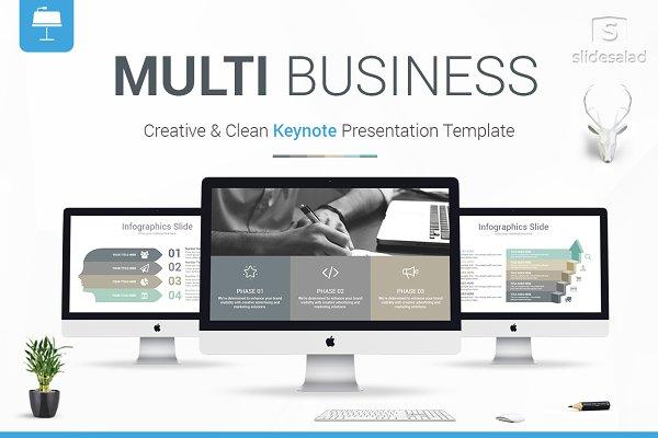 Multi Business Keynote Template