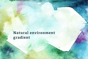 10 Watercolor organic Backgrounds