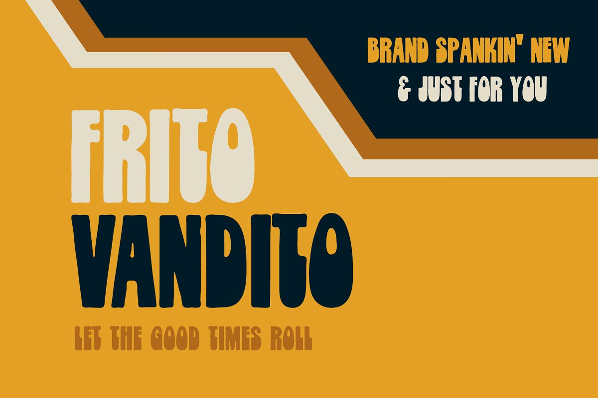 Frito Vandito in Cool Fonts - product preview 8