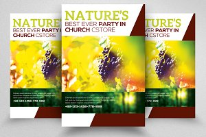 Nature Flyer Template 07
