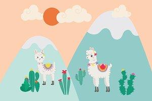 """""""cute llama"""""""