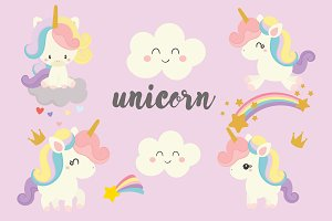 Cute unicorn.