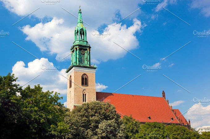 St. Mary's Church, Berlin, Germany - Architecture