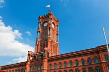 The Red City Hall, Berlin, Germany