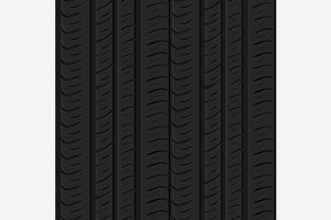 Seamless tire pattern