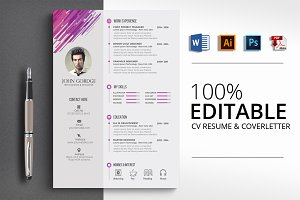Job CV Word Template