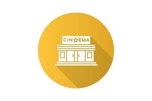 Cinema building icon