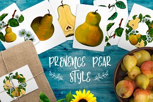 Provense Pear Style