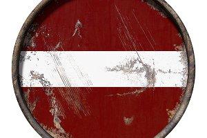 Old Latvia flag